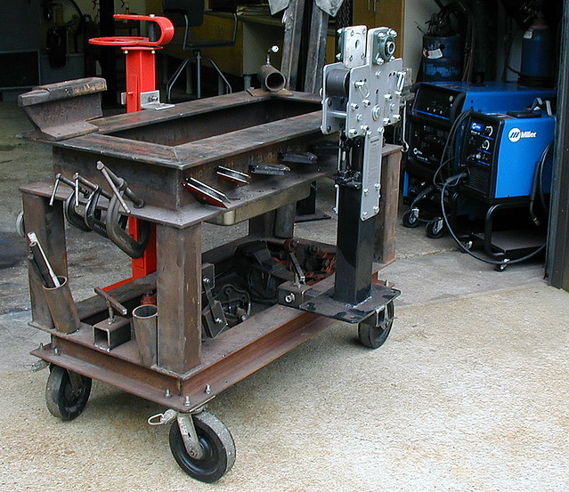 Mobile Welding Bench By S Hofbauer Heavy Duty Mobile