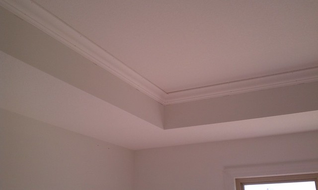 Tray Ceiling Molding: Crown Molding In The Master Bedroom Tray Ceiling