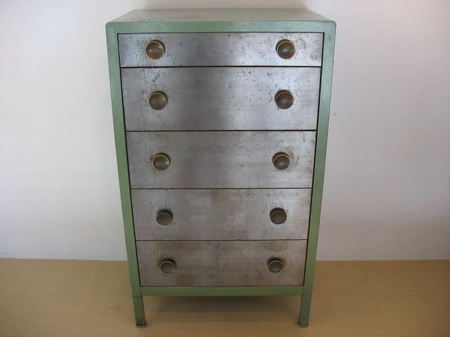 simmons metal dresser. industrial metal dresser | by housingworksphotos simmons i