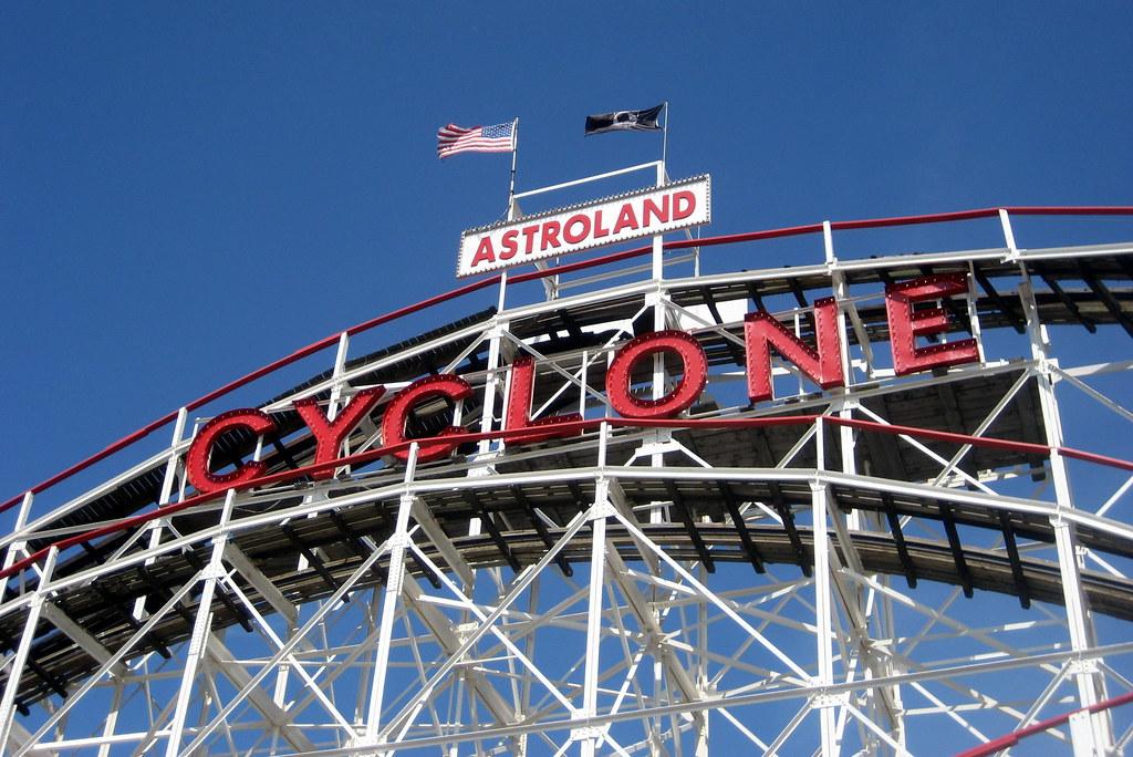 Coney Island Tornado Roller Coaster