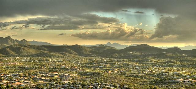 Tucson at Dusk
