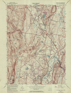 Tariffville Quadrangle 1970 - USGS Topographic Map 1:24,000 | by uconnlibrariesmagic