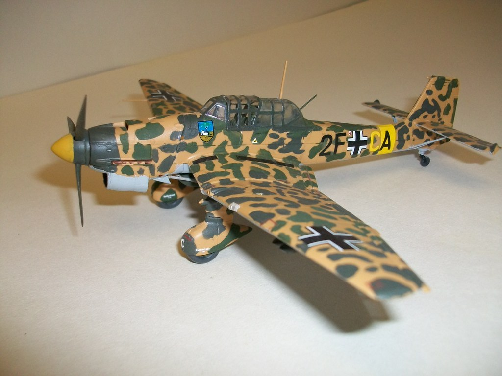 1 2 Scale >> Junkers Ju 87 Stuka | 1/72 Scale Revell kit, Junkers Ju 87 R… | Flickr