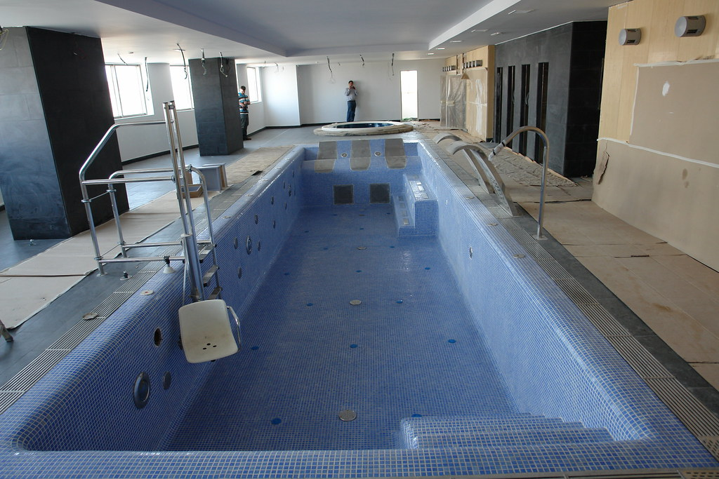 Spain Swimming Pool Construction All Concrete Pool Constru Flickr