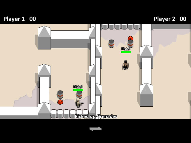 Boxhead 2Play Rooms deathmatch game