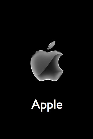 Apple 3d logo visit and click on - Original apple logo wallpaper ...