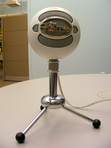 Blue Snowball USB Microphone | by David Lee King