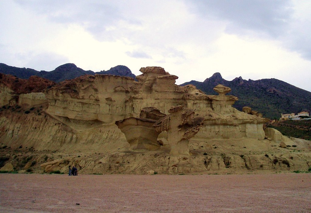 Wind erosion   Funny shaped rocks due to wind erosion in ...