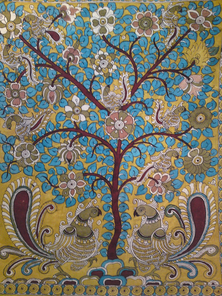 Tree of Life | Kalamkari art of South Eastern India ...