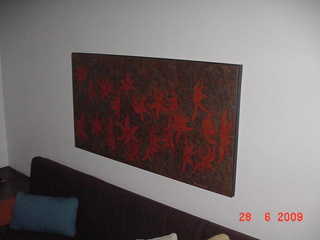 Sala De Tv Com Quadro ~ Sala de TV  Quadro grande em cima do sofá  Rodolpho Meyer  Flickr