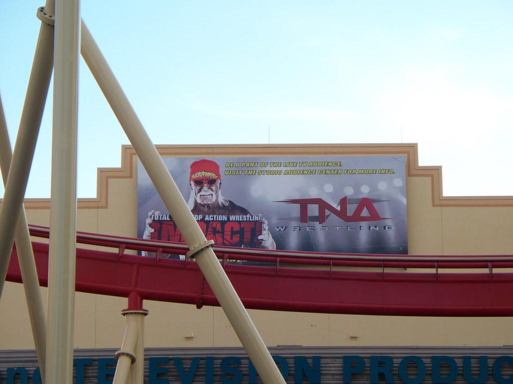 Tna Impact Studio At Universal Orlando This Was Re