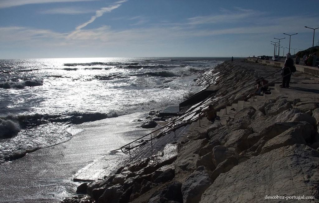 Escalier vers les vagues…