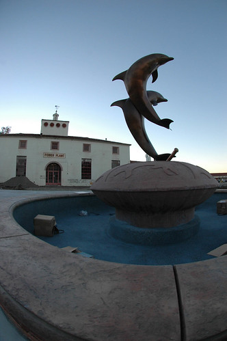 The Dolphin Fountain installation | by California State University Channel Islands