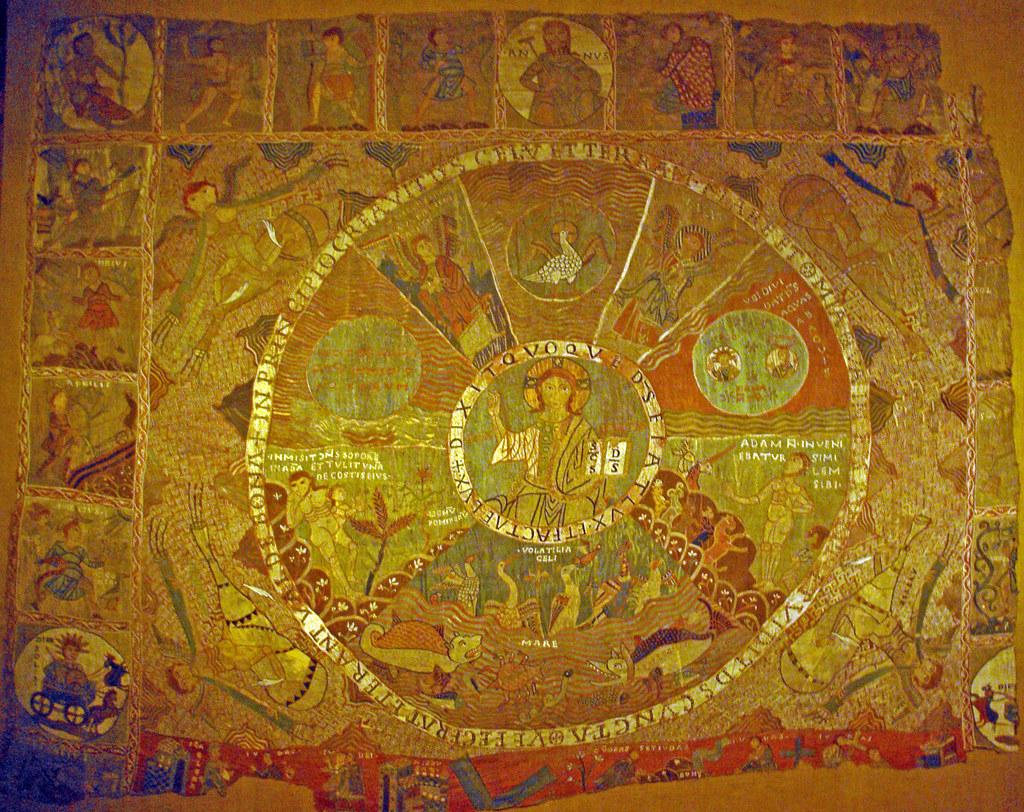 tap 237 s de la creaci 243 catedral de girona tapestry of the cr flickr