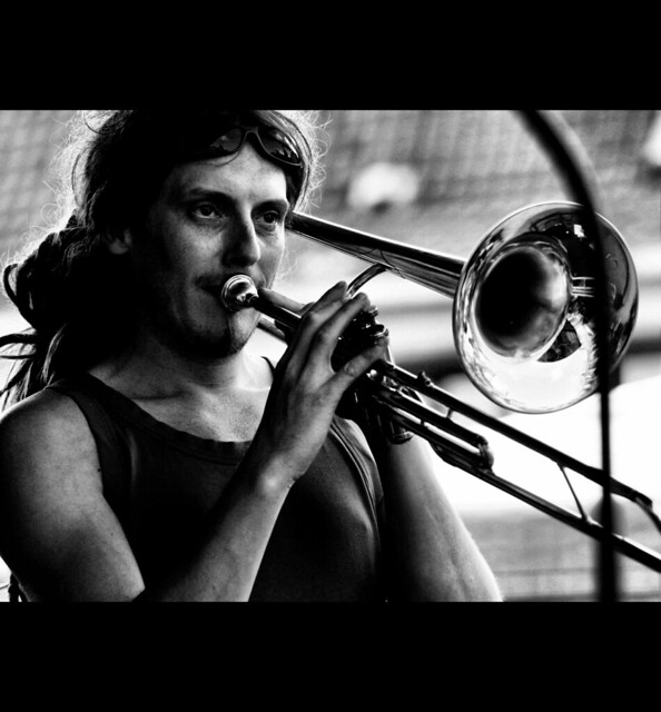 The trombone player | ...