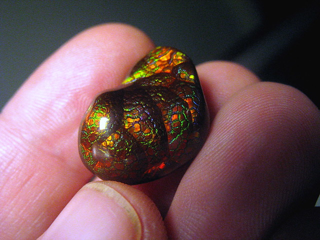 Fire Agate Gem