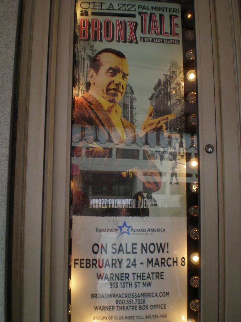 A Bronx Tale Warner Theater