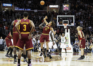 2010-2011 Home Opener Tip-Off | by Cavs History