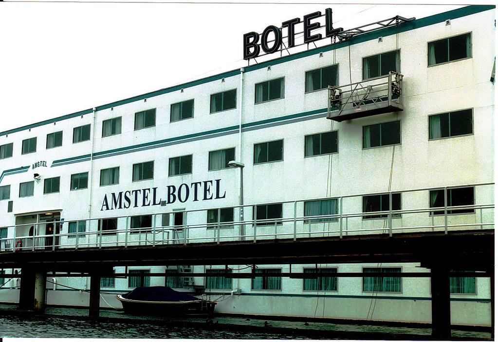 Botel Boat Hotel in Amsterdam