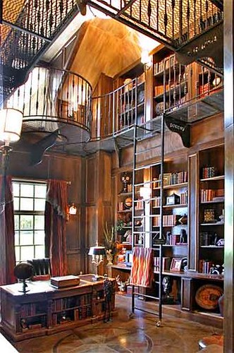 Two story library this was another what if moment for House plans with 2 story library