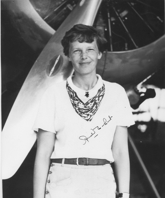 an analysis of amelia earhart gives a brief summary of her younger days Amelia's early years amelia earhart was born on july 24 amy, took the children, amelia and her younger sister in the first few days following the.