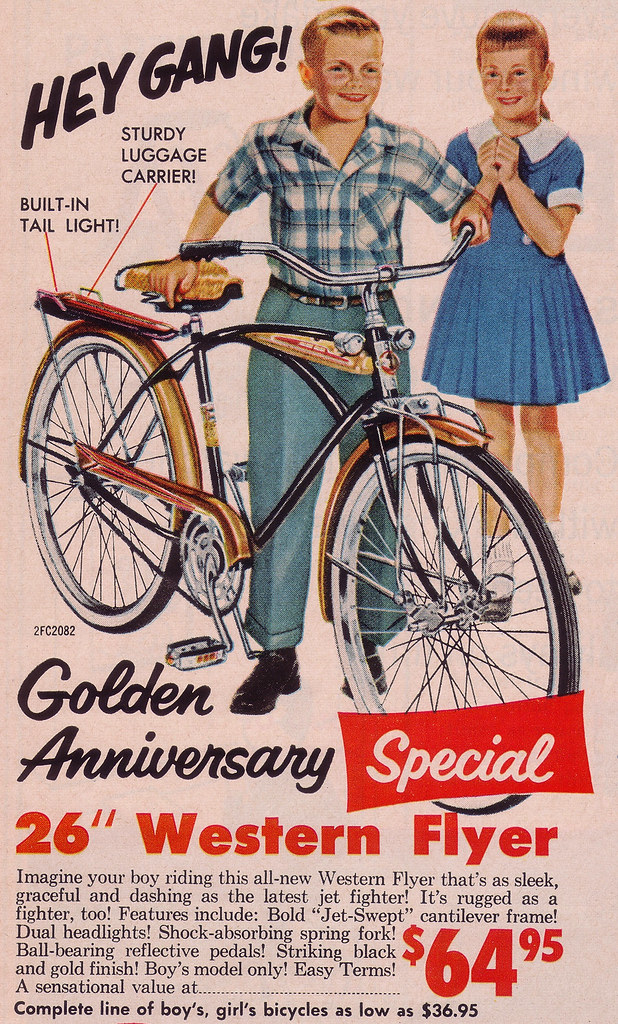 it s 1959 western flyer bicycle no girls allowed