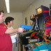 Students Playing Arcade Games at the Hub