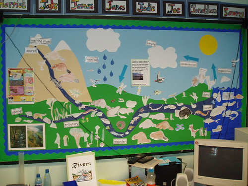 Water Cycle 2 | Year 4 display linked to rivers (Geography ...