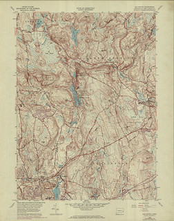 Old Mystic Quadrangle 1970 - USGS Topographic Map 1:24,000 | by uconnlibrariesmagic