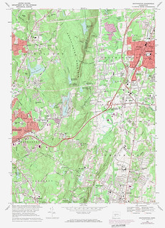 Southington Quadrangle 1972 - USGS Topographic Map 1:24,000 | by uconnlibrariesmagic