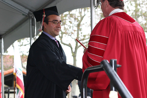 President Rush with graduate | by California State University Channel Islands