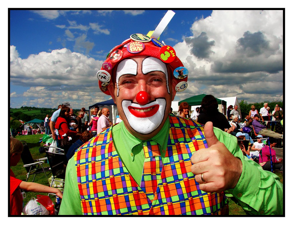 Happy Clown, Nice Day | Finally some brilliant weather! On ...