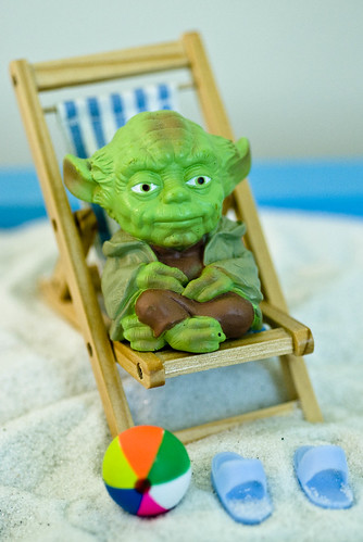 Yoda Takes a Vacation | by mcaliens