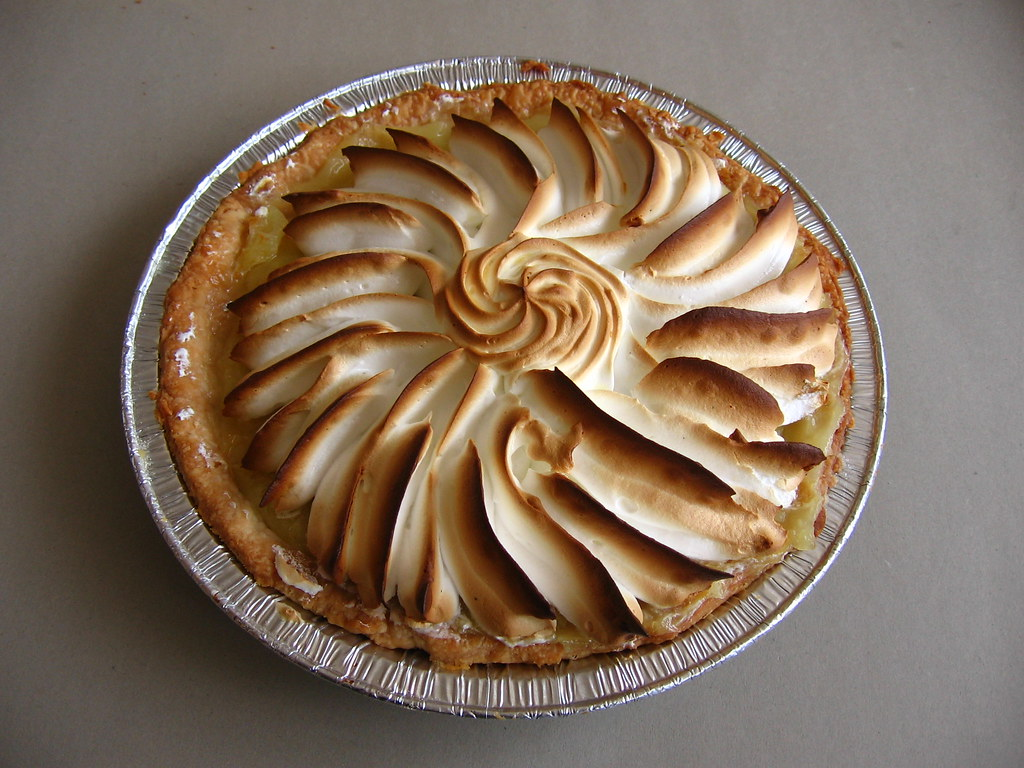 how to tell if meringue pie is done