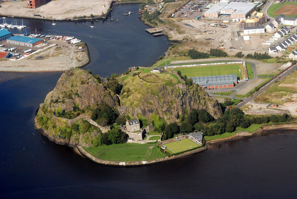 Dumbarton Castle from ...