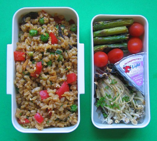 Roasted enoki lunch | by Biggie*