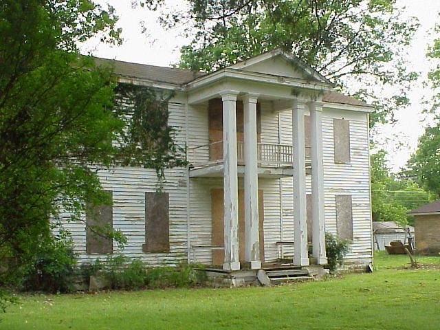 16 frith plunkett house built circa 1850 des arc arkan for Old style homes built new