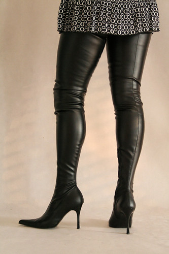 thigh boots in high heel de by miceli satdish flickr