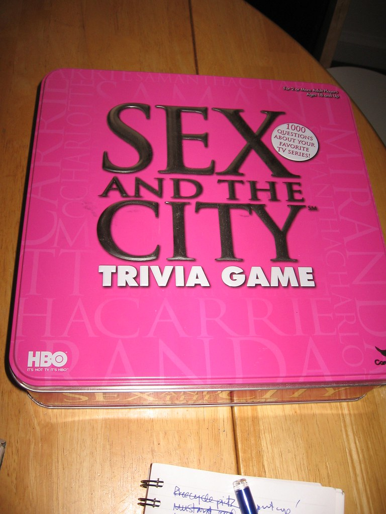 Game Sex And The City