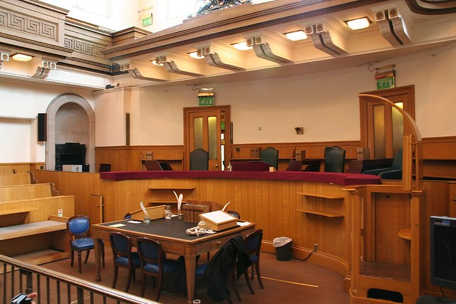 Another Court Room At Parliament House Edinburgh Doors Op