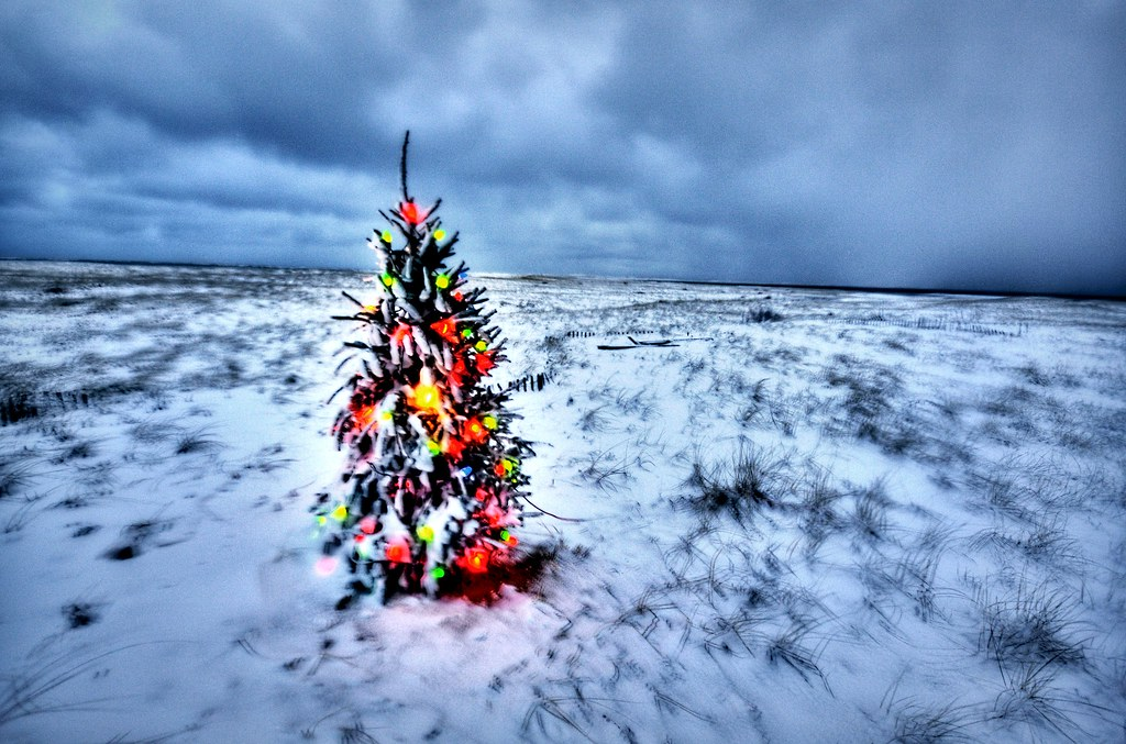 Cape Cod Beach Christmas Tree Hdr Chatham S Lighthouse