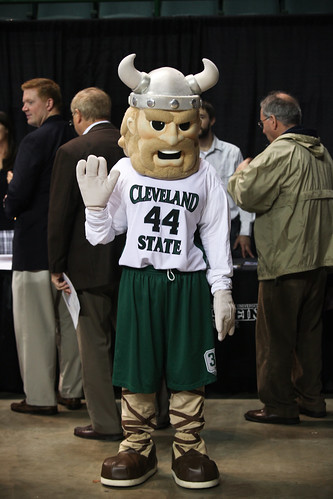 Magnus, Cleveland State University mascot | by JumpStartInc
