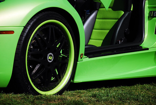 Lime green lamborghini Murcielago Roadster | John Hietter ...