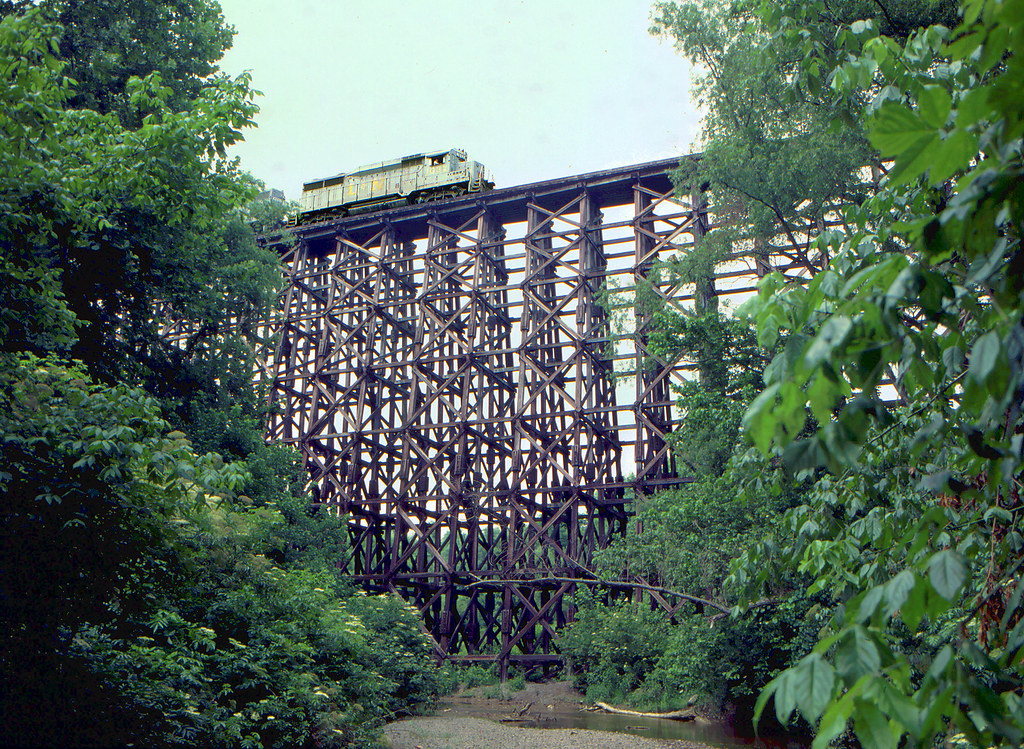 omemee train trestle how to get to