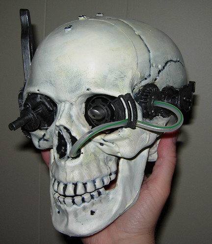 Skull Drone A Servo Skull Drone Prop From Our Upcoming