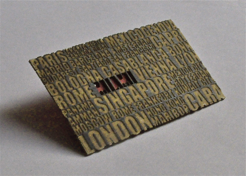 Laser Cut Business Card Laser Cut Business Cards By B