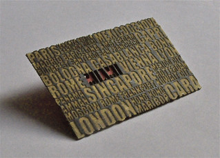 Laser Cut Business Card | by dailypoetics