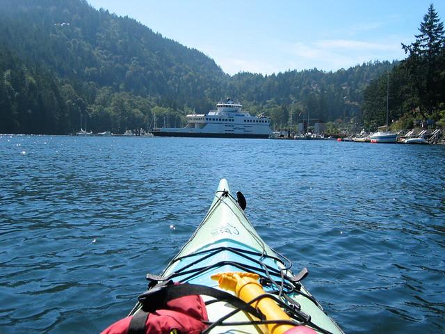 Bowen Island kayak trip 8/24/07