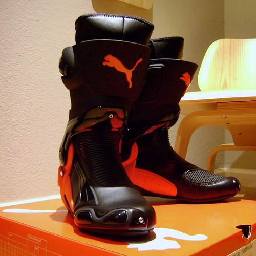 E Motorcycle Boots