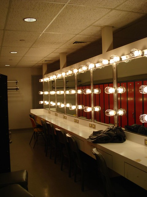 Terrace Theater Dressing Room The Ladies Dressing Room